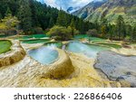 superb pools in huanglong... | Shutterstock . vector #226866406