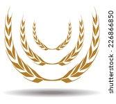 wheat | Shutterstock .eps vector #226866850