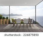 interior architecture 3d... | Shutterstock . vector #226875850
