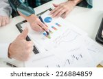 thumbs up in front of positive...   Shutterstock . vector #226884859