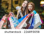 sale and tourism  happy people...   Shutterstock . vector #226893058