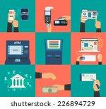 flat concept vector... | Shutterstock .eps vector #226894729