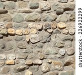close up of stone wall texture... | Shutterstock . vector #226922299