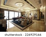 the luxurious interior design | Shutterstock . vector #226929166