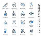 medical   health care icons set ... | Shutterstock .eps vector #226940488