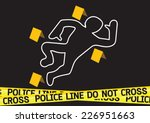 Crime Scene Danger Tapes...