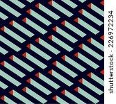 isometric vector seamless... | Shutterstock .eps vector #226972234