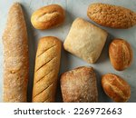 Freshly Baked Bread Buns  Top...