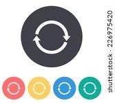 refresh icon   Shutterstock .eps vector #226975420