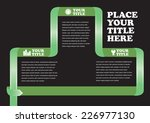 template design for page layout ... | Shutterstock .eps vector #226977130