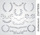 hand drawn design elements and... | Shutterstock .eps vector #226978306