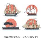 ships | Shutterstock .eps vector #227012914