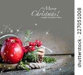 christmas background | Shutterstock . vector #227051008