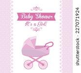 baby shower graphic design  ... | Shutterstock .eps vector #227071924