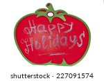happy holidays | Shutterstock . vector #227091574