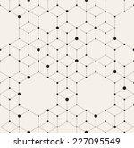 vector seamless pattern. modern ... | Shutterstock .eps vector #227095549
