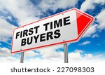 first time buyers   inscription ... | Shutterstock . vector #227098303