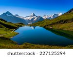 Mountain Lake   Switzerland