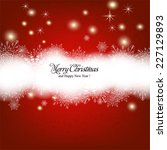 merry christmas and happy new... | Shutterstock .eps vector #227129893