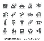 medical icon | Shutterstock .eps vector #227150170