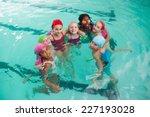 cute little kids in the... | Shutterstock . vector #227193028
