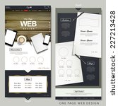office scene one page website...
