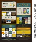 business style one page website ...