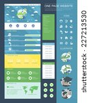 ecology style one page website...