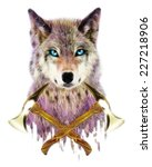T Shirt Graphics   Wolf...