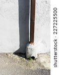Downspout Drain Pipe On An...