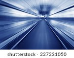 escalator  interior of the... | Shutterstock . vector #227231050