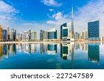 dubai skyline  uae.   Shutterstock . vector #227247589