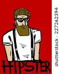 hipster icon | Shutterstock . vector #227262394
