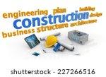 keywords of construction... | Shutterstock . vector #227266516
