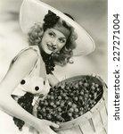 cherry picking | Shutterstock . vector #227271004