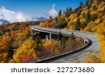 Linn Cove Viaduct Carries The...
