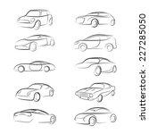 car line brush | Shutterstock .eps vector #227285050