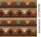 tribal art greece vintage... | Shutterstock .eps vector #227290783