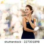 people  holidays and glamour...   Shutterstock . vector #227301898