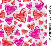 saint valentine's day.... | Shutterstock .eps vector #22733803
