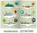 bio fuel graphic | Shutterstock .eps vector #227367430