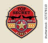 fighter badge    fighter... | Shutterstock .eps vector #227378110