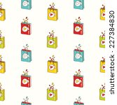 vector shopping background.... | Shutterstock .eps vector #227384830