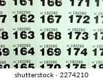 looking at raffle tickets for a ...   Shutterstock . vector #2274210