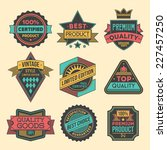 high quality assorted designs... | Shutterstock .eps vector #227457250