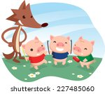 Three Little Pigs Fable With...