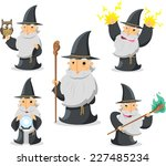 Magic Witch Wizard In Action...