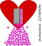 heart  valentine | Shutterstock .eps vector #227489698