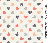 seamless geometric pattern with ... | Shutterstock .eps vector #227491036