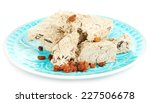 sunflower halva with raisins on ... | Shutterstock . vector #227506678